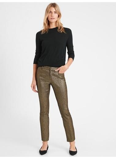 Banana Republic Mid-Rise Skinny Sloan Pantolon Altın